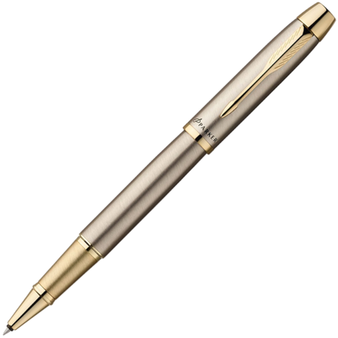 PARKER IM - BRUSHED METAL GT, РУЧКА-РОЛЛЕР